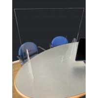 Freestanding sneeze screen - 75cm Tall